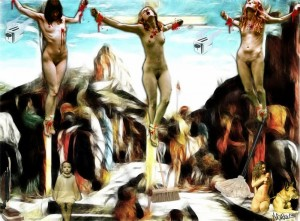 Crucifixion of Eve P