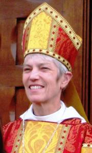 Мэри Дуглас Гласспул - епископ Лос-Анджелеса, открытая лесбиянка