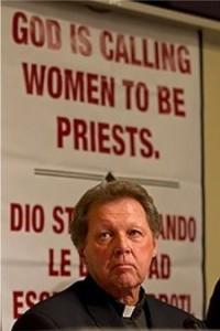 Рой Буржуа, сторонник рукоположения женщин в Католической церкви