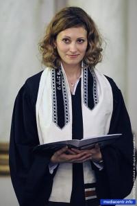 Дженис Севр (Janice Sevre), женщина-священнослужитель, сторонница рукоположения женщин