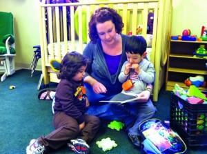 Cестра Сара Мартц с детьми