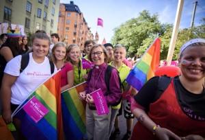 Епископ Стокгольма на прайде