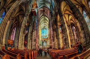 Интерьер Кёльнского собора