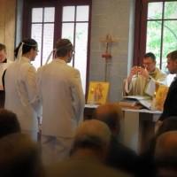 Венчание двух мужчин в США по византийскому обряду православной церкви