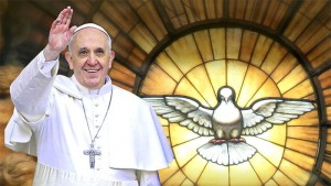Папа Римский Франциск (коллаж)