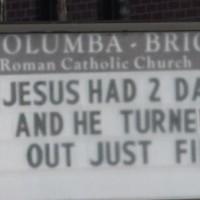 """Католический приход в США: """"У Иисуса было два папы"""""""