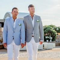 Свадебная пара в Греции