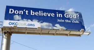 Не верите в Бога? Присоединяйтесь!