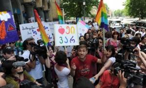 Попытка проведения гей-прайда в Грузии