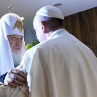 Папа Франциск и патриарх Кирилл осудили однополые браки