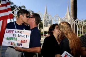 Акция ЛГБТ-мормонов