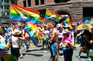 ЛГБТ-евреи на прайде в Сан-Франциско