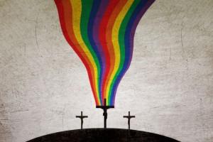 Радуга над Крестом