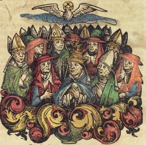 Изображение из Нюрнбергской хроники 1493 г.