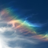 Радуга в облаках