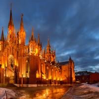 Католической Собор Непорочного зачатия в Москве