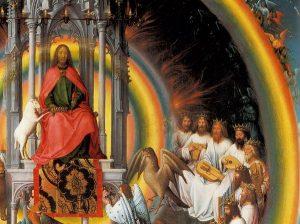 Ганс Мемлинг. Алтарь Св. Иоанна (фрагмент)