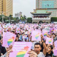 Марш в поддержку брачного равноправия