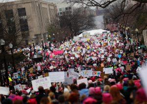 Женский Марш на Вашингтон 21 января