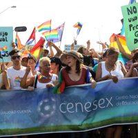 Мариэла Кастро и представители CENESEX