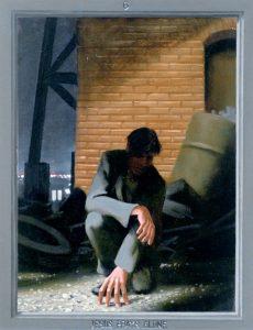 Дуг Бланшар. Иисус молится в одиночестве