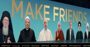 Лидеры мировых религий призывают к дружбе в видеообращении
