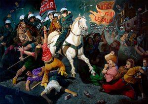 """Битва при Стоунволле, 1969"", Сэндоу Бирк"
