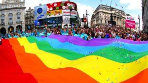 Прайд-парад в Лондоне
