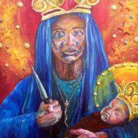 Ченстоховская Божья матерь превращается в защитницу лесбиянок